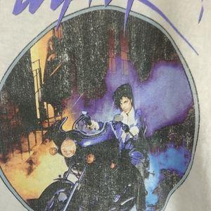 Prince Tops - Purple Rain Prince Medium Shirt